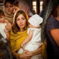 крещение Мирославы :: Ирина Гребенюк