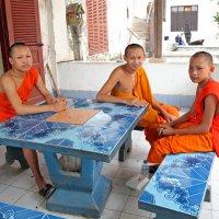 Лаос. Молодые монахи :: Владимир Шибинский