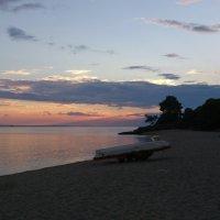 Закат на Эгейском море. :: Vladimir 070549