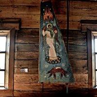 очень старинная  икона в церкви Покрова Богородицы ,Кижи. :: Маry ...