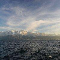 Небо, горы, озеро... :: Valeriy(Валерий) Сергиенко