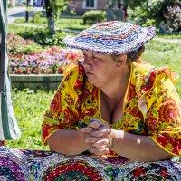 Е. Н. Цыганкова. Шляпка и цветочки. 2014 :: Елена Цыганкова/Elena Tsygankova