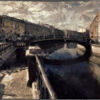 Петербург. Канал Грибоедова, Сенной мост :: Станислав Лебединский