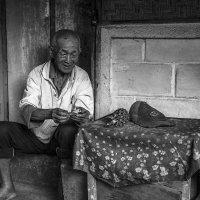 классический дедушка азии... :: Александр