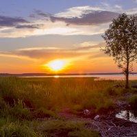 Плещеево... закат... :: Марина Назарова