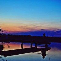 Вечерняя рыбалка :: Юлия Семенова