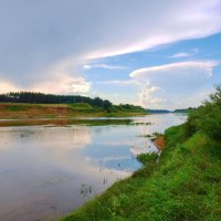 Западная Двина в районе Полоцка- Беларусь :: yuri Zaitsev