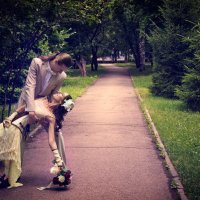 свадебная прогулка :: Арина Берестяк