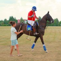 КОННОЕ ПОЛО или Спорт королей (репортаж) .. :: Арина Дмитриева
