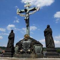 """Скульптурная композиция """"Распятие Христа"""" :: Маргарита"""