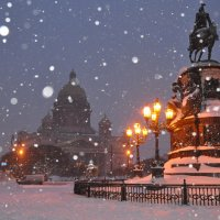 Снегопад :: Петр Мерзляков