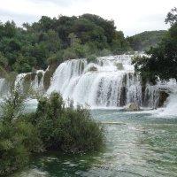 Водопад в парке КРКА. :: Надюша