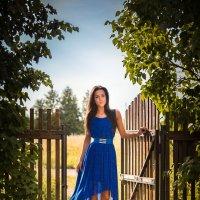 Доченька Алинка в деревне :: Aнатолий Дождев