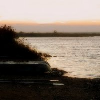 Рассвет на озере :: Елена Даньшина