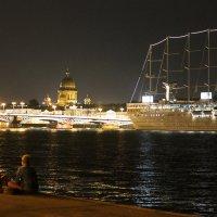 Жаркая летняя ночь :: Вера Моисеева