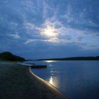 Ночь  на  Иртыше :: Геннадий С.