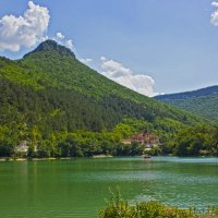 Горное озеро :: Ирина Рассветная