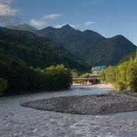 Река Большая Лаба :: Юрий Чиженко