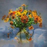 Натюрморт за мокрым стеклом :: Светлана Л.