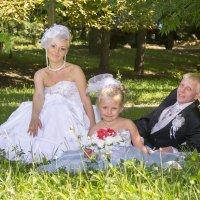 Таня, Виталик и Машенька :: Бурлака Андрей