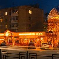 Ночь, улица, Смоленск :: Анатолий Тимофеев