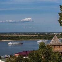 Н. Новгород. На рейде. :: Максим Баранцев