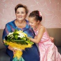 Бабушка и внучка :: Anna Lipatova