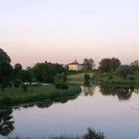 Пейзаж с Константиновским дворцом. :: Лия ☼