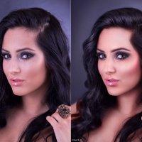 ретушь женского портрета (до и после) :: Veronika G
