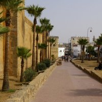 Стена португальской крепости : Г. Рабат :: Amina selma saidi