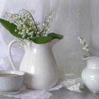 Ландыши и кофе с молоком... :: lady-viola2014 -