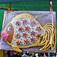 Пряничная рыбка. :: Валерия Комова