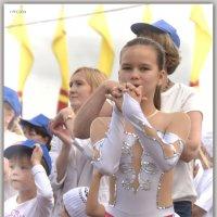 День города Чебоксары.Зарядка со звездой. :: Юрий Ефимов