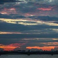 Литейный Мост - рассвет :: Maxim Rozhkov