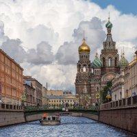 Собо́р Воскресе́ния Христо́ва на Крови́ или Храм Спа́са-на-Крови́ в Санкт-Петербурге :: Александр Дроздов