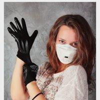 Девушка в перчатках :: Екатерина Климова