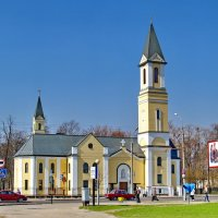 Гомель- Костел Рождества Девы Марии :: yuri Zaitsev