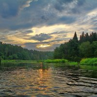утро на Москве реке :: Дмитрий Анцыферов
