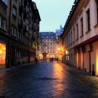Вечер гулял по улицам Праги :: Анастасия Беланович