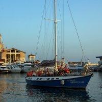 В морском порту :: Виолетта