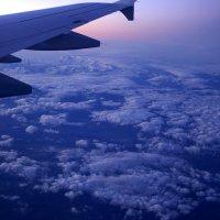 Альпы под крылом самолета :: Светлана marokkanka