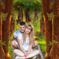 в сказочном лесу :) :: Юлия Шестоперова