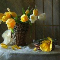 Голландское солнце цветет на столе... :: lady-viola2014 -