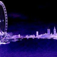 Сиреневая ночь в Лондоне... :: Барбара