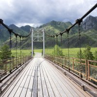 Ороктойский мост :: Анастасия Ульянова