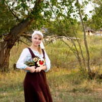 в деревне :: Иринка