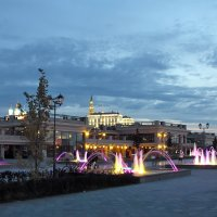Вид на Казанский кремль с набережной Казанки :: Сергей Корнилов