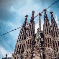 Вечно строящийся храм Саграда Фамилия. Барселона :: Ксения Базарова