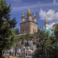 Надвратная церковь Иоанна Предтечи в Лавре :: Виталий Авакян