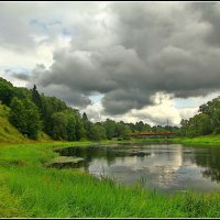 красивая река Руза :: Дмитрий Анцыферов